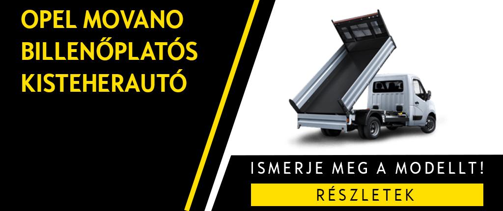 Opel_Movano_Billenőplatós_Kisteherautó