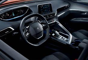 Új Peugeot 3008 SUV interior