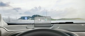 Új Citroen C3 Aircross headup display