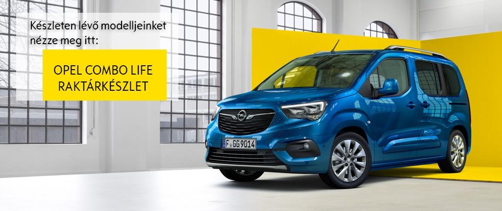 Opel Combo raktarkeszlet