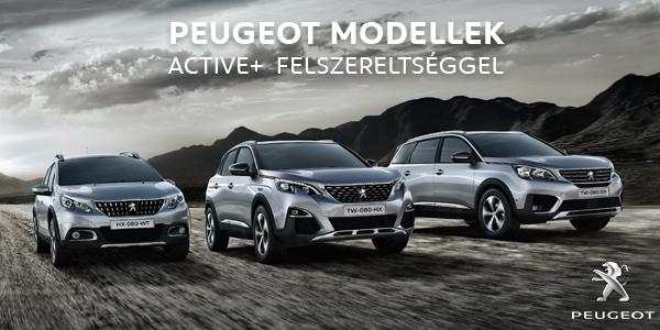 Peugeot SUV modellek