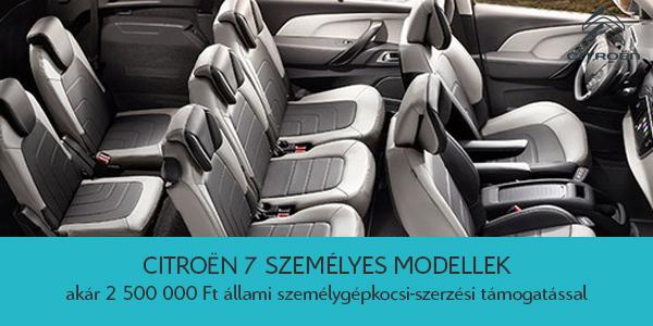 7_szemelyes_Citroen_modellek