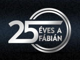 Idén 25 éves a Fábián