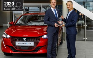 Díjesővel kezdi az esztendőt a Peugeot