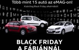 Az első Black Friday-en értékesített autó az eMAG-on